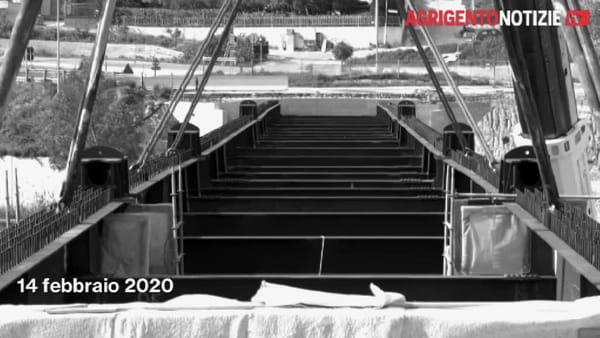 Cantiere chiuso per decreto: anche il Covid-19 frena i lavori di ricostruzione del ponte Petrusa