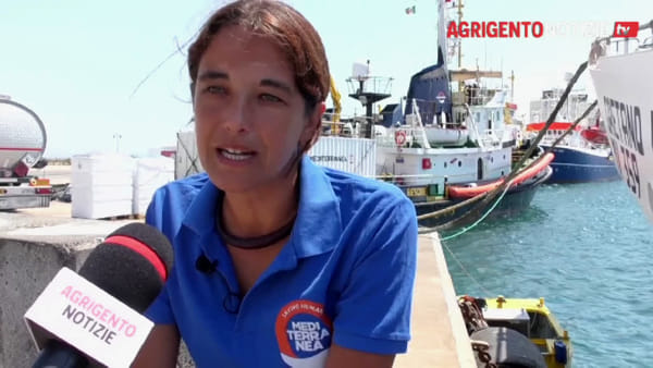 """Mare Jonio molla gli ormeggi, la portavoce di Mediterranea: """"Grazie Licata"""""""
