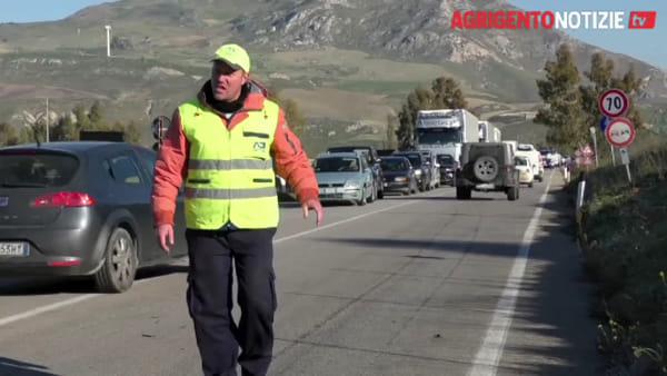 Tragico incidente sulla Agrigento-Palermo, ecco le immagini dopo lo schianto