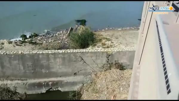 Sversamento alla foce del fiume Salso, la denuncia di Mareamico