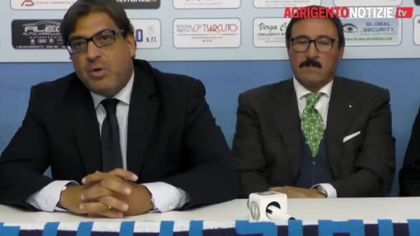 """L'Akragas presenta Vullo, il patron Castronovo: """"E' stata la nostra prima scelta"""""""