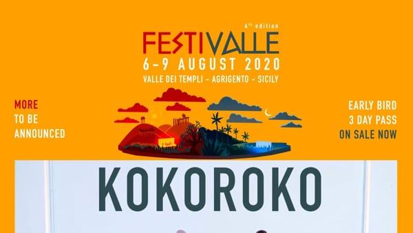 FestiValle, via all'edizione 2020: all'evento i Kokoroko