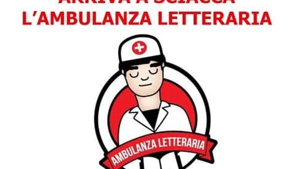 """""""Ambulanza letteraria"""", libri come cura: tappa a Sciacca"""