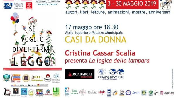 Sciacca libri in festa, è il turno di Cristina Cassar Scalia: il programma