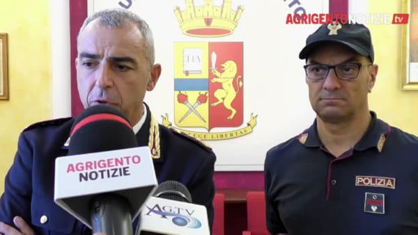 """Il dirigente Mossuto lascia Agrigento: """"Grazie ai poliziotti straordinari con cui ho lavorato"""""""