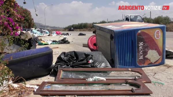 """Il """"cimitero"""" degli elettrodomestici esiste, contrada San Benedetto tra rifiuti e pericoli"""