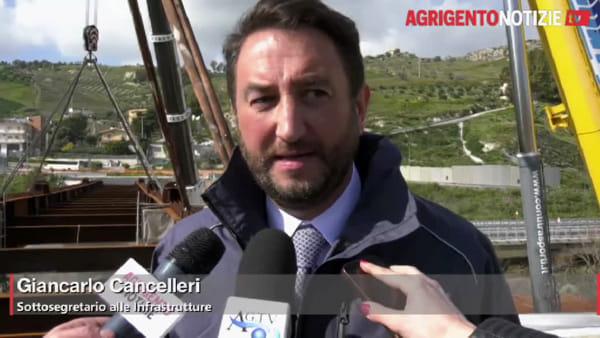 """Nuovo ponte """"Petrusa"""", il vice ministro Cancelleri: """"Chiedo scusa per il ritardo"""""""