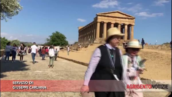 Valle dei Templi presa d'assalto dai turisti: è stato un 2 giugno un po' speciale