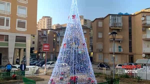 Protagonismo civico sotto l'albero: il quartiere Esseneto si illumina per le feste