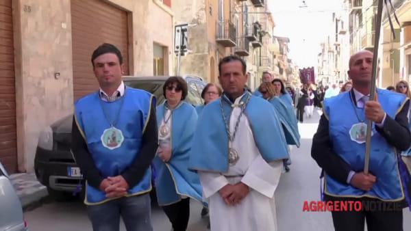 """Trenta confraternite dell'arcidiocesi a Favara, don Franco: """"La carità ha un posto d'onore"""""""