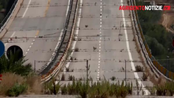 """Viadotto Morandi chiuso da 29 mesi, MareAmico: """"L'unica novità è l'erba che cresce"""""""