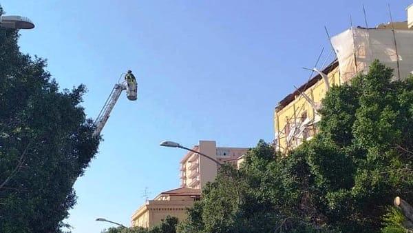 palazzo liberty crollo su viale della vittoria2-2