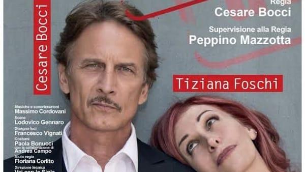 """Al teatro Pirandello lo spettacolo """"Pesce d'aprile"""", in scena Cesare Bocci"""