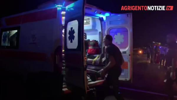 Incidente in viale Emporium: frontale fra due auto, tre feriti in ospedale