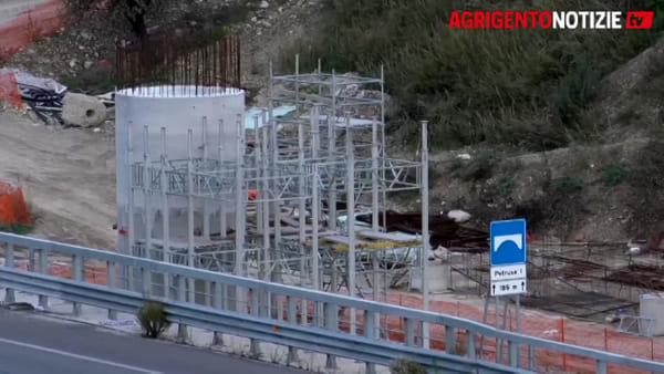 Ricostruzione del ponte Petrusa, c'è ancora tanto lavoro da fare: si allungano i tempi?