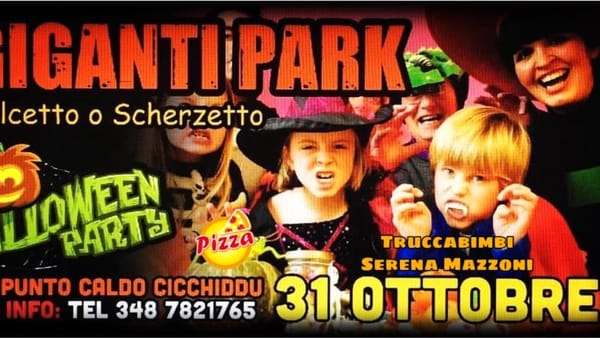 """Dolcetto o scherzetto?"", Halloween party al ""Giganti park"": l'evento"