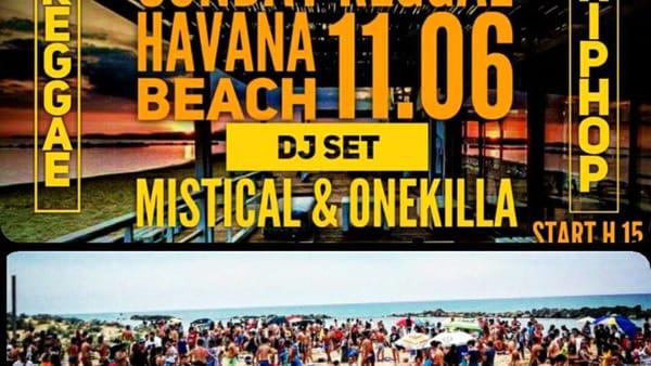 Musica in spiaggia, le domeniche dell'Havana