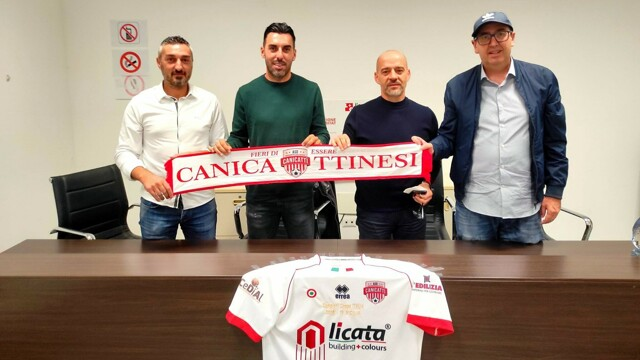 Super shot in defense for Canicattì: Desiderio Garufo hired thumbnail
