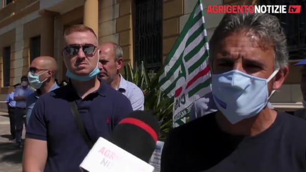 """Carceri polveriere, sit-in in Prefettura, Gallo Cassarino: """"Al Petrusa un situazione scandalosa"""""""