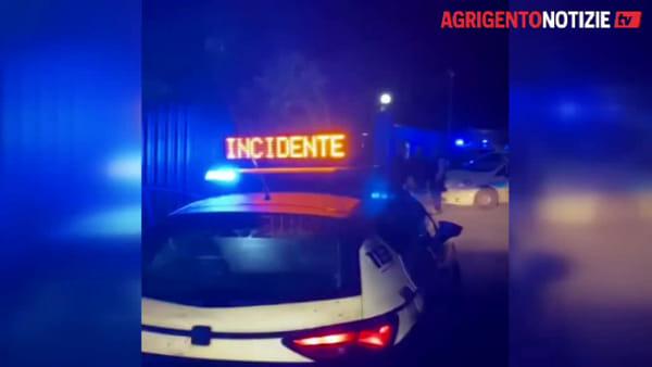 Incidente sulla provinciale e Audi carambola in un parcheggio, ecco le immagini dell'incidente