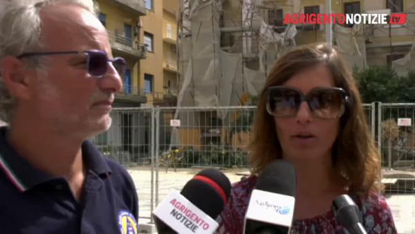 Crollo di piazza Cavour: attivato un numero di assistenza alla popolazione