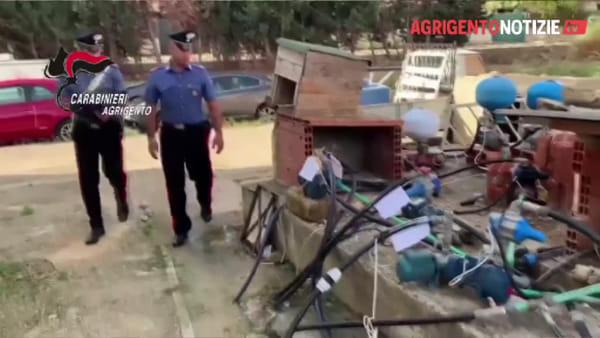 Furti di luce e acqua, i carabinieri salvano un bimbo di 3 anni mentre eseguono i 24 arresti