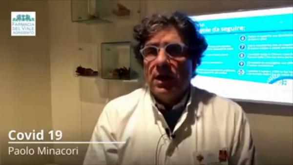"""Emergenza Coronavirus, il farmacista Minacori parla alla città: """"Serve massima prudenza"""""""