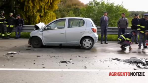 Incidente mortale a Sciacca, ecco le drammatiche immagini