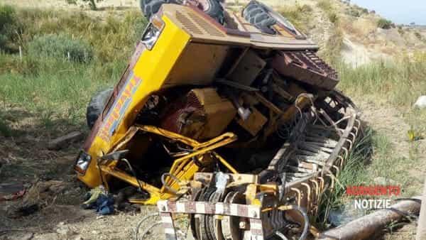 incidente sul lavoro ss115 fra villaggio mosè e palma3-2