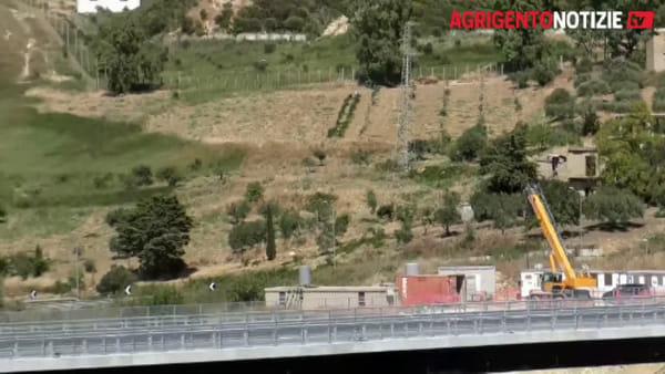 """Viadotti chiusi, Cancelleri: """"Petrusa pronto a luglio e Akragas entro i primi mesi del 2021"""""""