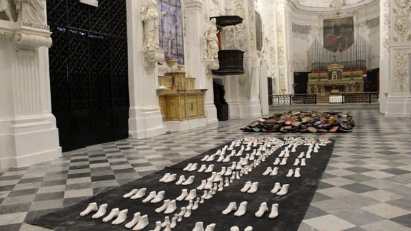 """""""L'anima del libro. Shoah. Conoscere con l'arte"""", opere e testi in mostra a San Lorenzo"""