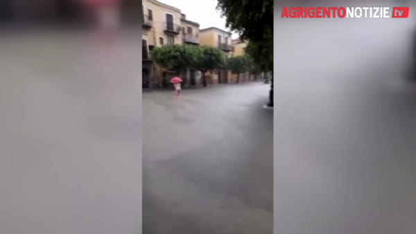 Maltempo, Licata è di nuovo sott'acqua: azionate le idrovore ma è emergenza