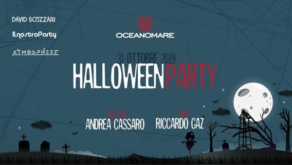 "Halloween party da Oceanomare, ecco l'evento ""horror"""