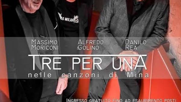 """Al teatro Pirandello, il concerto jazz: """"Tre per Una"""""""