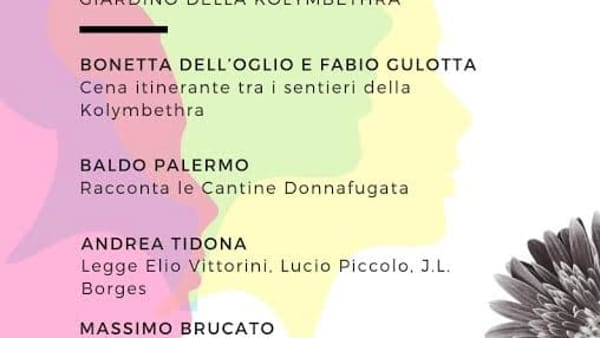 """""""Il profumo della pagina scritta"""", l'evento con Donnafugata e Andrea Tidona"""