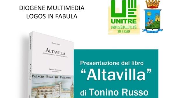Altavilla, si presenta oggi alle 18 il romanzo di Tonino Russo