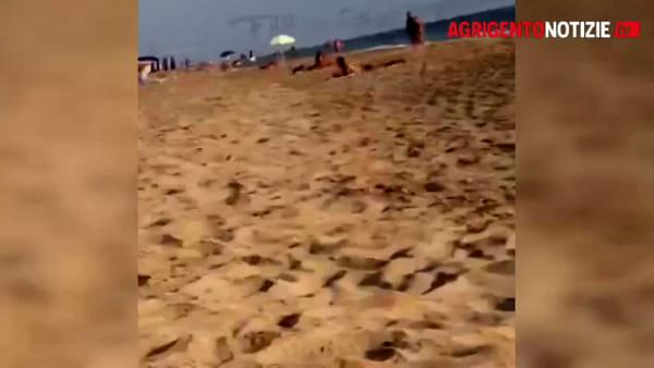 Sbarco fantasma a San Leone, ecco le immagini dell'approdo e della fuga