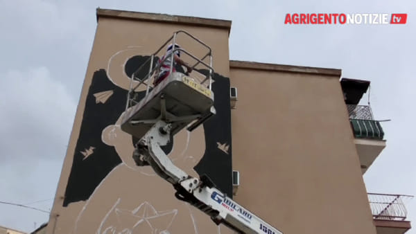 Utopia Fest, nel quartiere Esseneto un murales in memoria dei migranti morti in mare