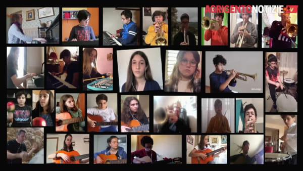 """Didattica a distanza e musica: gli alunni della """"Agrigento centro"""" cantano Rosa Balistreri"""