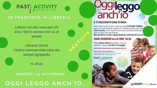 """""""Oggi leggo anch'io"""", l'evento in libreria: l'iniziativa per i bimbi"""