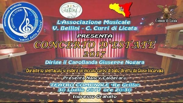 Concerto d'estate 2017, lo spettacolo al teatro Re Grillo