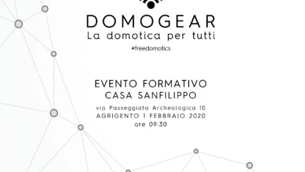 """""""Domogear"""",  la Domotica per tutti: il programma"""