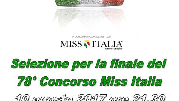 Miss Italia, a Canicattì selezione per la finale