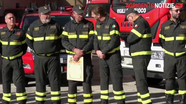 Vigili del fuoco e Guardia costiera festeggiano Santa Barbara nel ricordo delle vittime del dovere