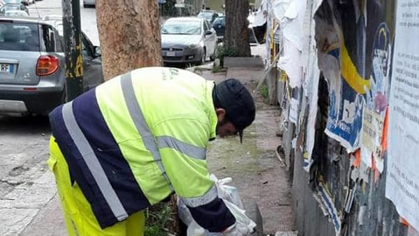 After the August salary has been paid, the garbage workers strike returns thumbnail