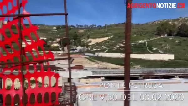 """Ricostruzione del ponte Petrusa, """"Mani Libere"""": """"Cantiere deserto, cosa e chi si aspetta?"""""""