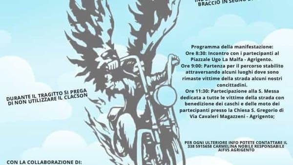 """""""Motoraduno degli angeli"""": l'evento per non dimenticare le vittime della strada"""
