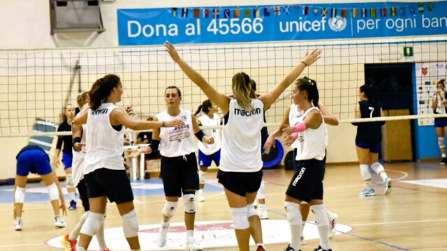 Volleyball Aragon, the first joint training with Catania ends 2-2 thumbnail