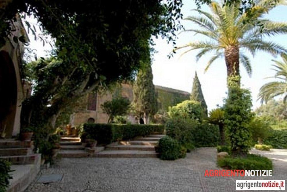 Una veduta di villa Aurea