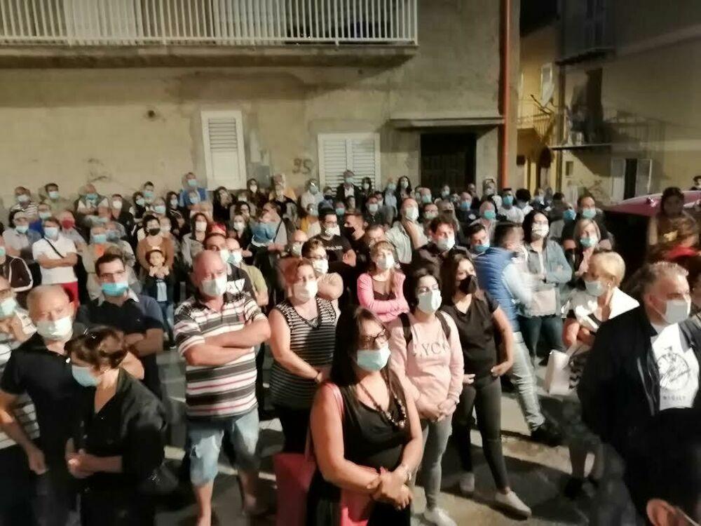 """Il candidato sindaco Vita Mazza ha incontrato i residenti del quartiere dello """"Stazzone"""""""